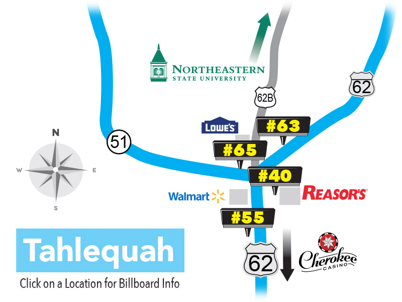 Tahlequah_Oklahoma_Billboard_Locations