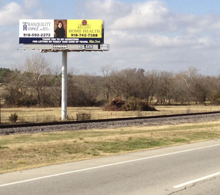 Gordon Outdoor Advertising, Coweta, Oklahoma Billboard #1