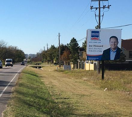 Gordon Outdoor Advertising billboard #26, East Face