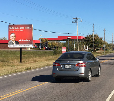 Broken Arrow Oklahoma billboard #26