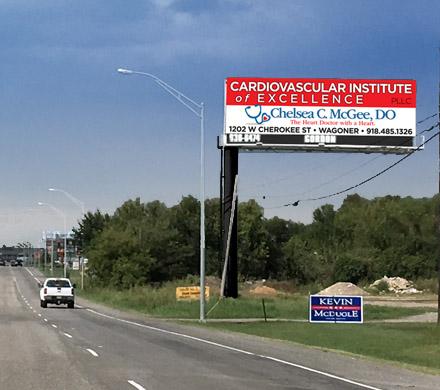 Gordon Outdoor Advertising, Wagoner, Oklahoma billboard #24