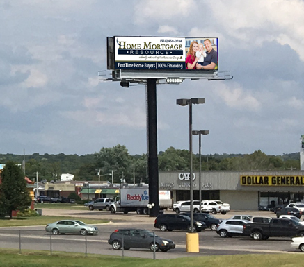 Gordon Outdoor Advertising Tahlequah, Oklahoma, billboard #40