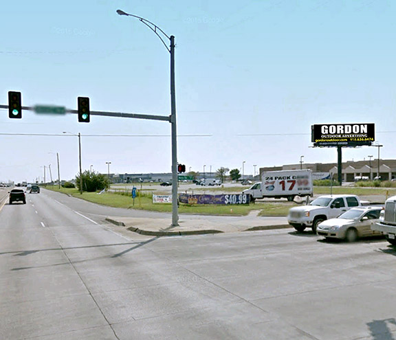 Gordon Outdoor Advertising, Wichita, Kansas billboard #51